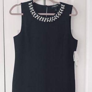 Black with Rhinestones Dress NWT Cocktail LBD Med